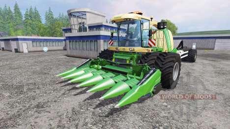 Krone Big X 1100 Hkl для Farming Simulator 2015