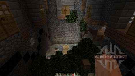 Dianites Fortress Overgrown для Minecraft