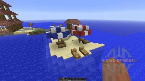 Vacation House для Minecraft