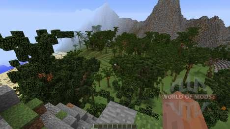 Tropical Island для Minecraft