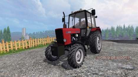 МТЗ-82.1 Беларус красный для Farming Simulator 2015