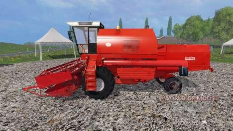 Bizon Z058 v1.5 для Farming Simulator 2015