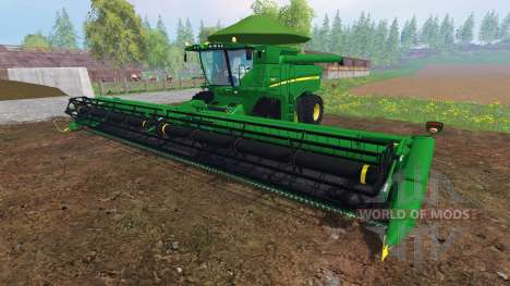 John Deere S680 [Brazilian] для Farming Simulator 2015