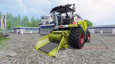 CLAAS Jaguar 980 [forest] для Farming Simulator 2015