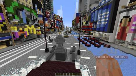 Times Square Manhattan Replica для Minecraft