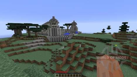 Temple Of Azura 2 для Minecraft