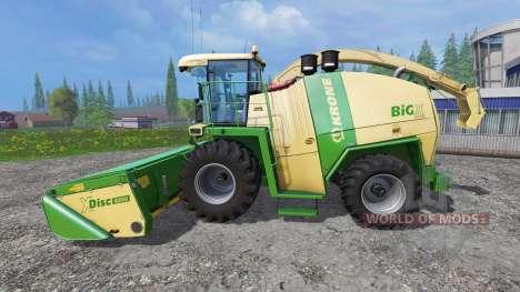 Krone Big X 1100 [original colors] для Farming Simulator 2015