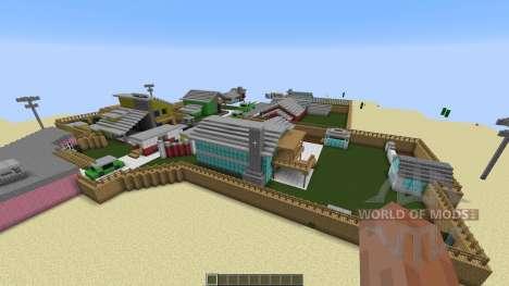 Nuketown Black Ops для Minecraft