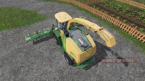 Krone Big X 1100 [inluding cutters] для Farming Simulator 2015