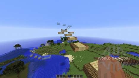 ParcourTime 1.6 для Minecraft