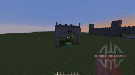 Server Spawn Pack Modular Infrastructure для Minecraft