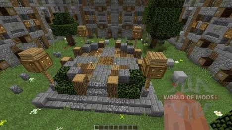 Epic Minecraft Castle для Minecraft