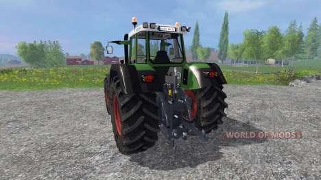 Fendt Favorit 824 v3.5 для Farming Simulator 2015