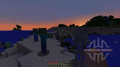 Ender Island A Difficult Island Survival Map для Minecraft