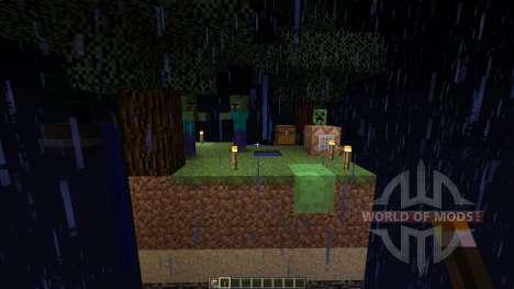 luckyblock skywars для Minecraft