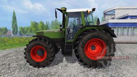 Fendt Favorit 515C v2.0 для Farming Simulator 2015