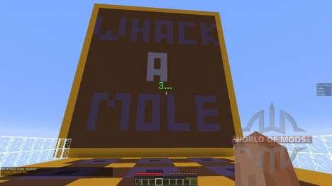 Whack A Mole для Minecraft