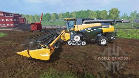 Caterpillar Lexion 590R v1.41 [fix edited] для Farming Simulator 2015