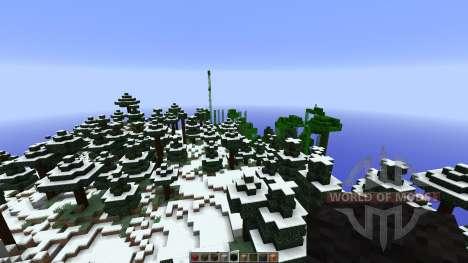 Stonehearth Castle LittleBlocks Mod для Minecraft