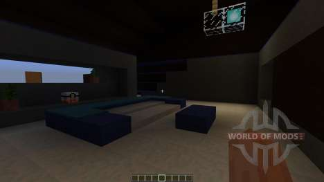 Costa Ultramodern House для Minecraft