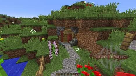 Hobbiton Settlement для Minecraft