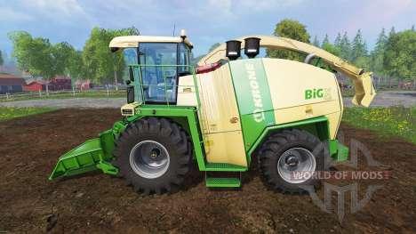 Krone Big X 1100 [crusher] для Farming Simulator 2015