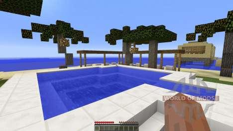 Holiday island для Minecraft