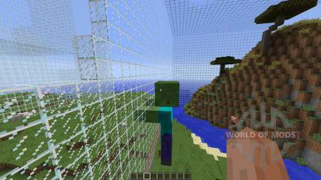 Giant Zombë World для Minecraft
