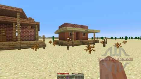 WILD WEST Survival для Minecraft