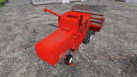 Bizon Z056 v1.0 для Farming Simulator 2015