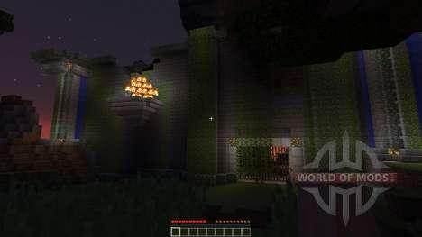 The ruined city of Lemuria для Minecraft