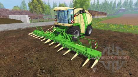 Krone Big X 1100 [mouse controlled] v2.0 для Farming Simulator 2015