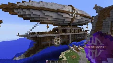 Steampunk Airship Of Thernop для Minecraft