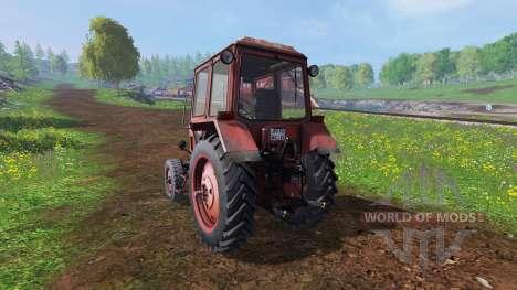 МТЗ-80 [красный] v2.0 для Farming Simulator 2015