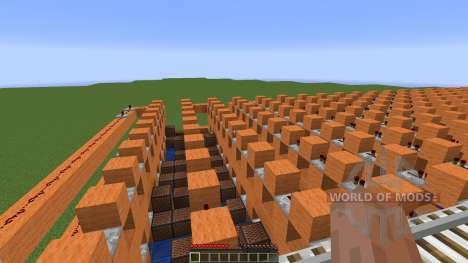 Minecraft Note Block Song: Sandstorm Darude для Minecraft
