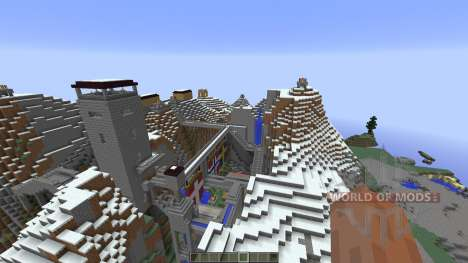 Nebelheim The mountain village для Minecraft