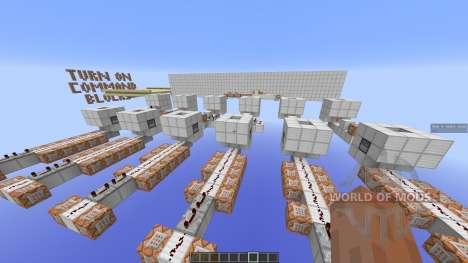 Ghost Squadron Minecraft PvP Minigame для Minecraft