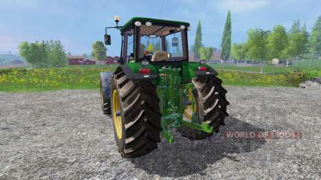 John Deere 8530 [washable] для Farming Simulator 2015