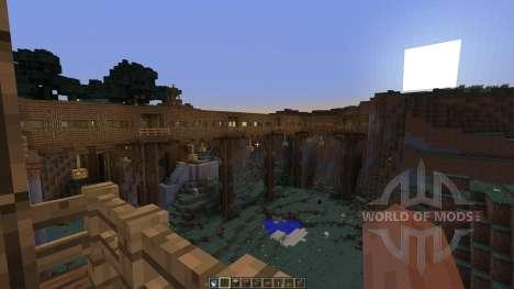 Dam Bridge Tunnel Experiments для Minecraft