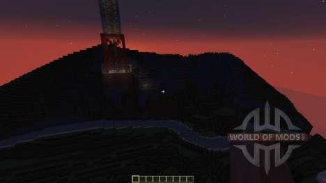Hollywood California для Minecraft