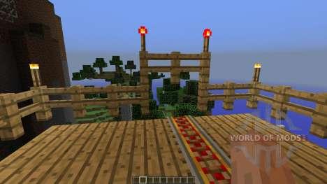 Rollercoaster TyCraft для Minecraft
