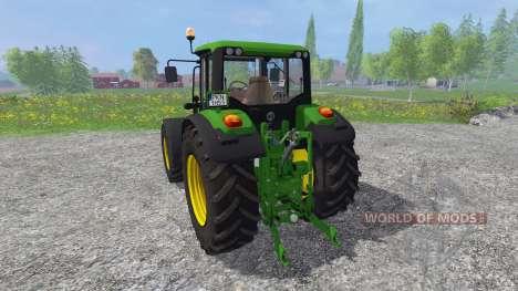 John Deere 6125M для Farming Simulator 2015