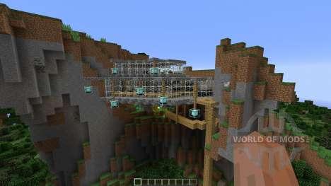 A MINIMILIST ROCK-CLIFF для Minecraft