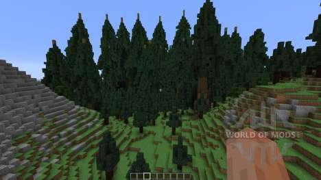Mountain Island Map для Minecraft