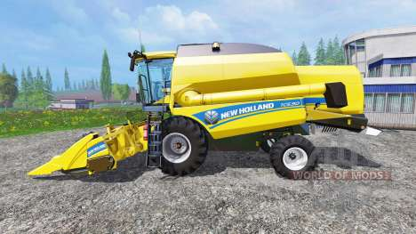 New Holland TC5.90 v1.1 для Farming Simulator 2015