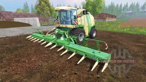 Krone Big X 1100 [tank 300000 liters] v1.2 для Farming Simulator 2015