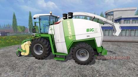 Krone Big X 1100 [color edition] для Farming Simulator 2015