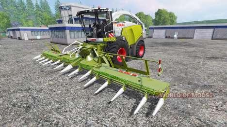 CLAAS Jaguar 980 v2.0 для Farming Simulator 2015