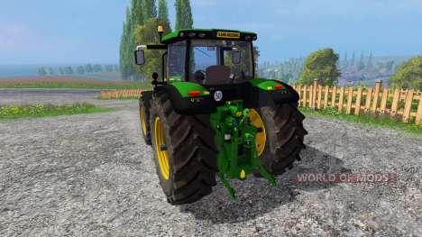 John Deere 6170R v2.1 для Farming Simulator 2015