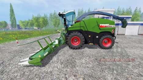 Fendt Katana 65 [pack] для Farming Simulator 2015